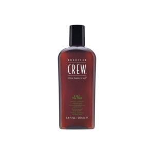 szampon do włosów dla mężczyzn - 3w1 tea tree