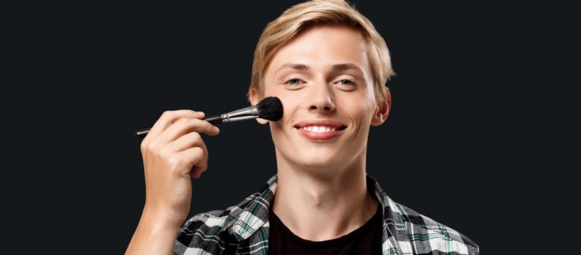 Jak stosować podkład mineralny dla mężczyzn